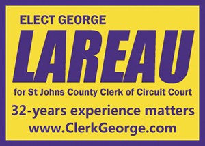 Elect George Lareau Clerk of Court