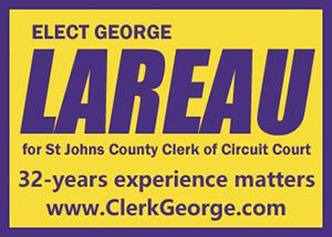 Elect George Lareau Clerk of Court