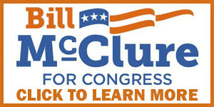 Vote for Bill McClure for Congress