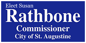 Elect Susan Rathbone Commissioner City of St Augustine