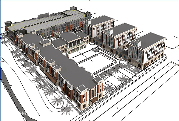 flagler college residence hall and parking garage underway