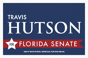 TRAVIS HUTSON FOR FLORIDA SENATE