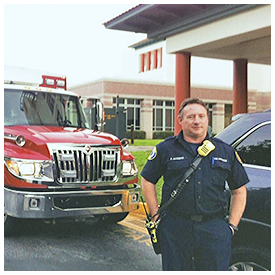 Local Fire Rescue Paramedic hospitalized in Jacksonville cancer unit