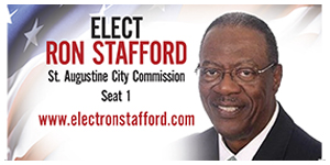 Elect Ronald Stafford City Commission Seat 1