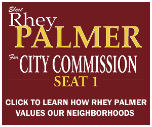 RHEY PALMER FOR CITY COMMISSION