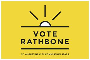 Elect Susan Rathbone Commissioner City of St Augustine
