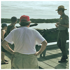 Bird Walk at Fort Matanzas