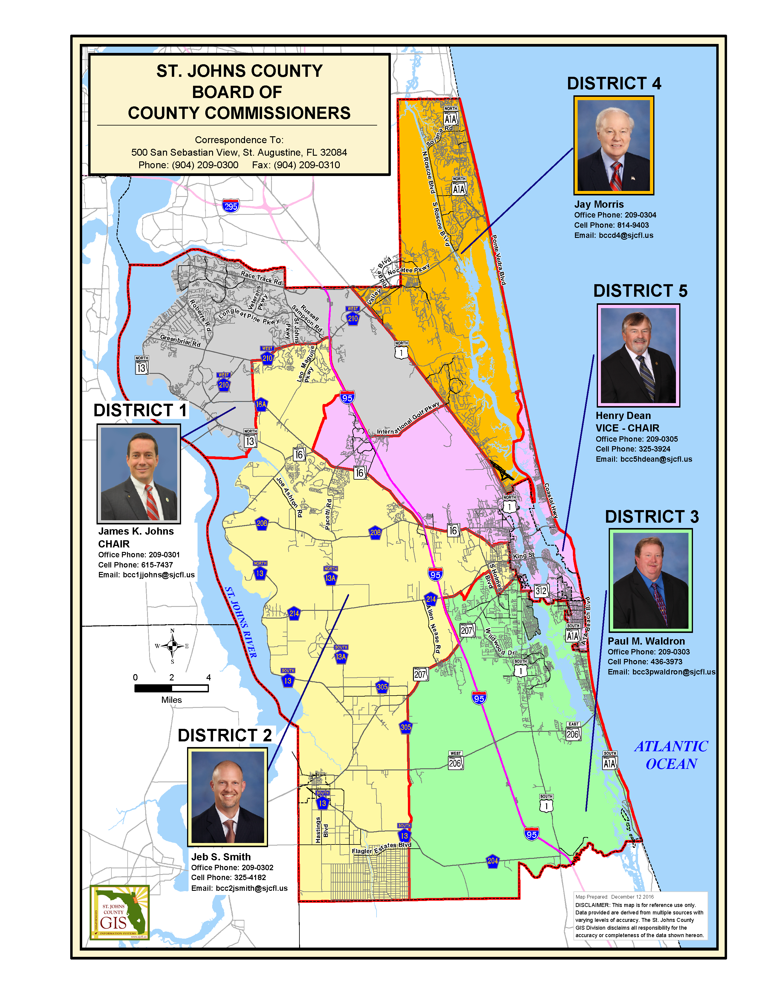 SJC MAP WITH BOCC DISTRICTS
