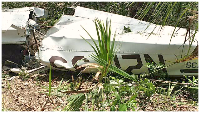 Officials search for survivors after small plane crashes in Flagler