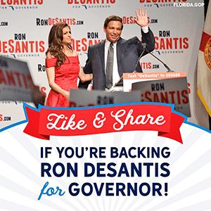 Ron Desantis for Florida Governor